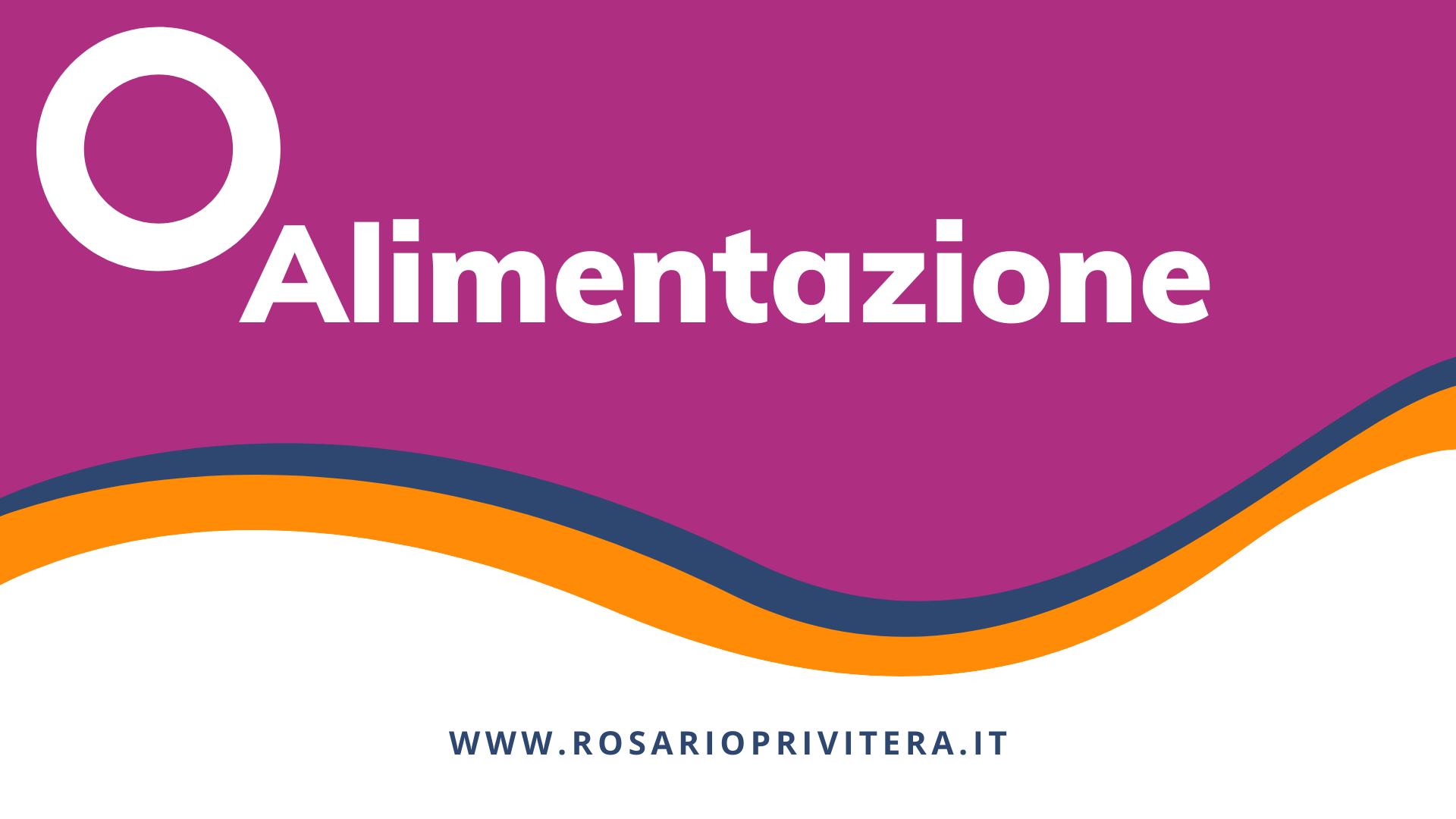 Alimentazione_Rosario Privitera, psicologo a Milano e online