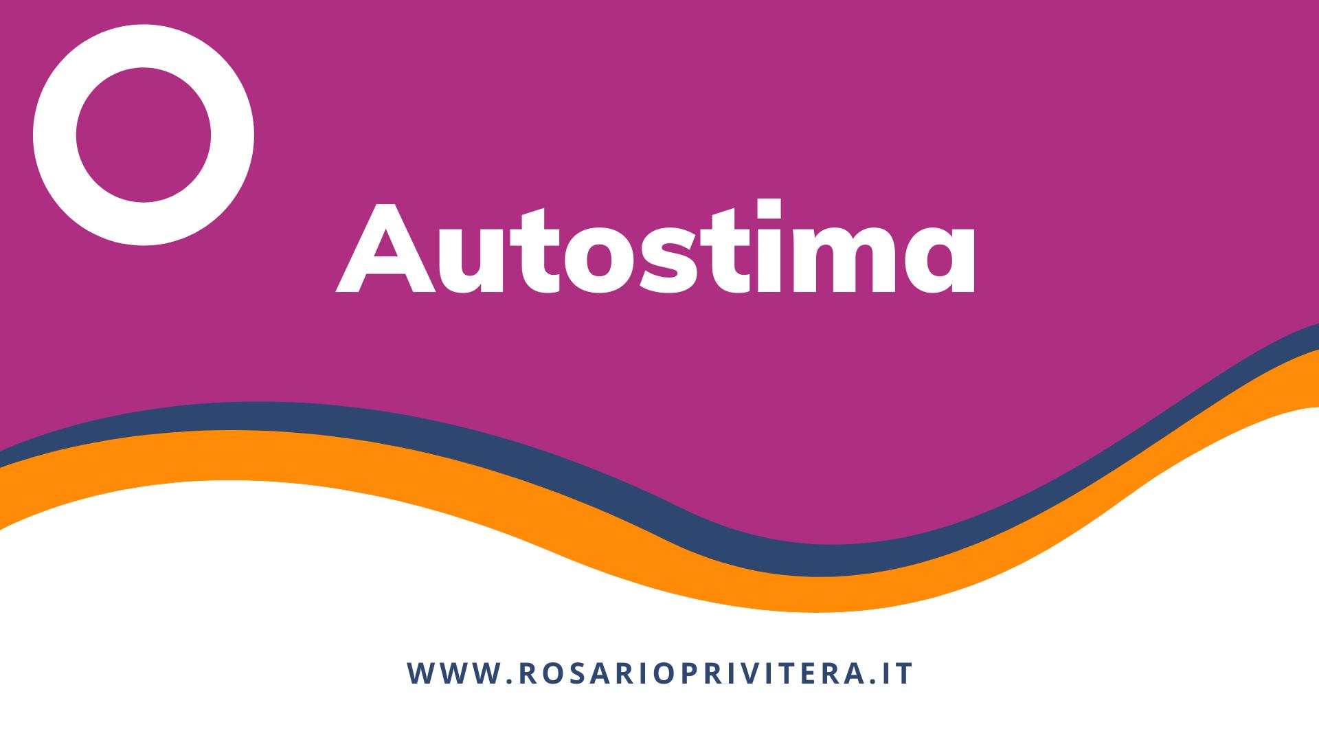 Autostima_Rosario Privitera, psicologo a Milano e online