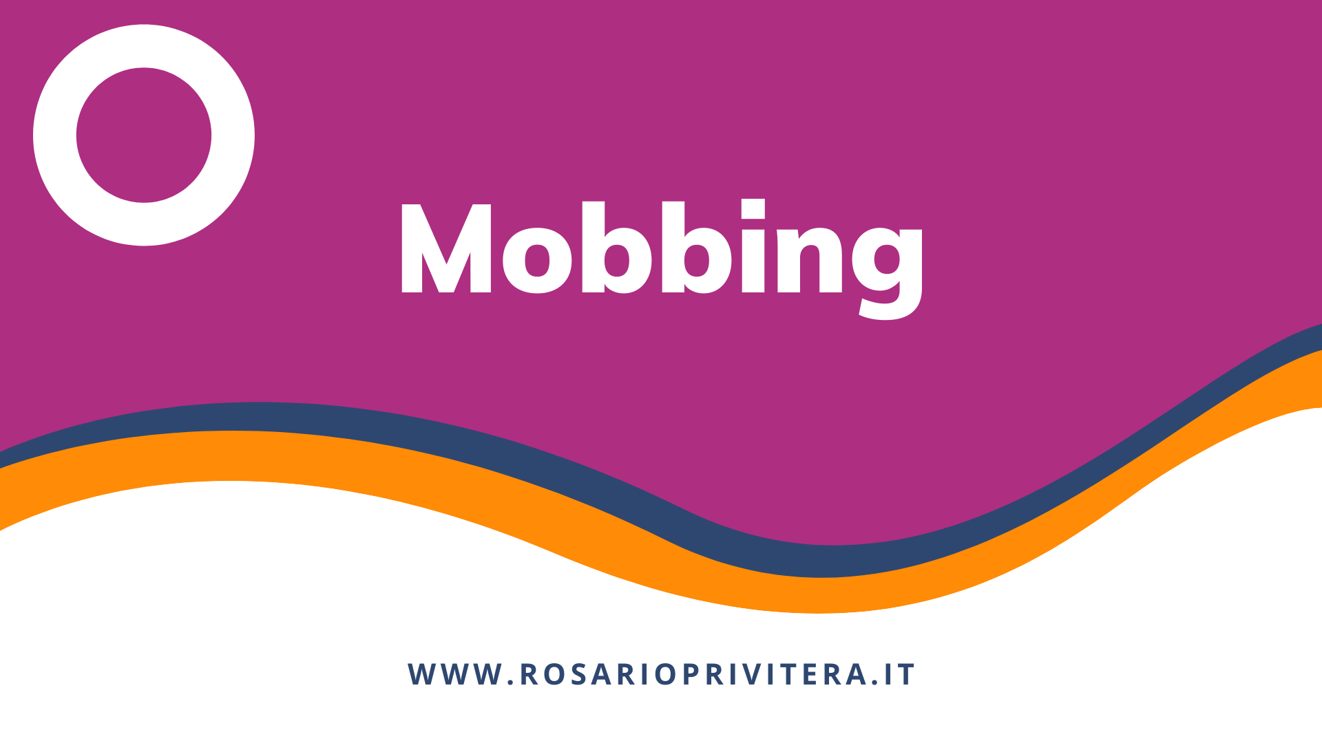 Mobbing_Rosario Privitera, psicologo LGBT a Milano e online